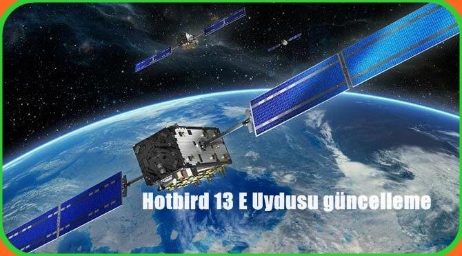 Hotbird 13 Euydusu, Eutelsat tarafından işletilen13 derece doğuboylamında 13B / 13C / 13E olmak üzere toplam 3 adet uydu ile faaliyet göstermektedir. Hotbird uydusu üzerinde popüler olarakSky,Bis TV,Cyfrowy